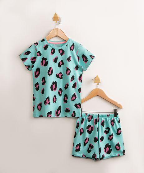 pijama-infantil-manga-curta-de-algodao-estampado-animal-print-onca-verde-agua-1000774-Verde_Agua_1