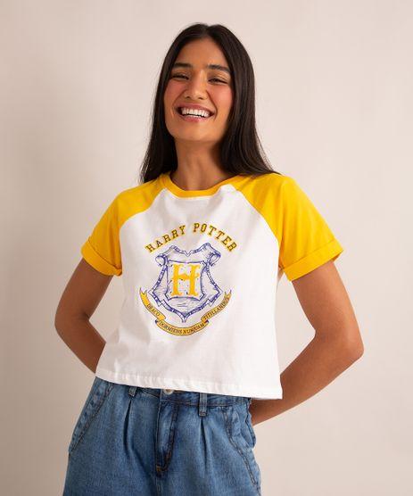 camiseta-raglan-de-algodao-harry-potter-manga-curta-decote-redondo-amarelo-1007066-Amarelo_1