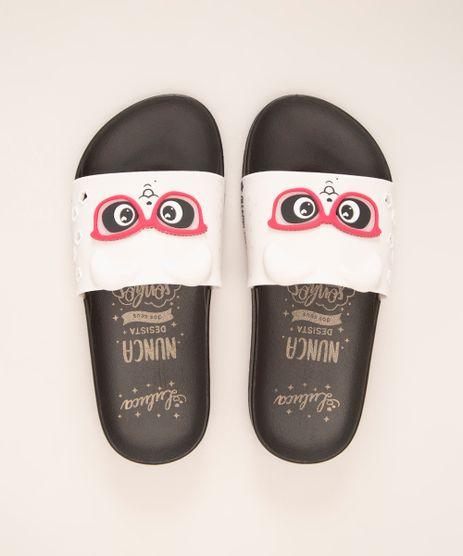 chinelo-slide-infantil-luluca-panda-com-oculos-grendene-preto-1006720-Preto_1