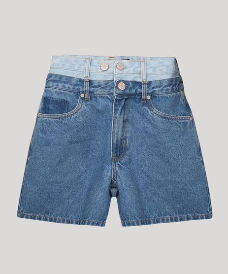 Bermuda-Vintage-Jeans-com-Cos-Duplo-Cintura-Super-Alta-BFF-Azul-Medio-1010564-Azul_Medio_1
