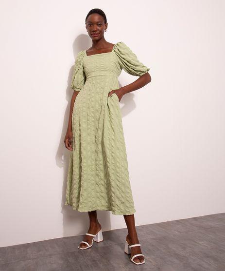 vestido-midi-texturizado-com-bolso-manga-bufante-decote-reto-mindset-verde-claro-1012476-Verde_Claro_1