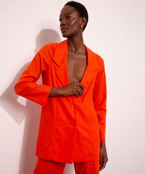blazer-alfaiataria-com-linho-longo-mindset-laranja-1010258-Laranja_1