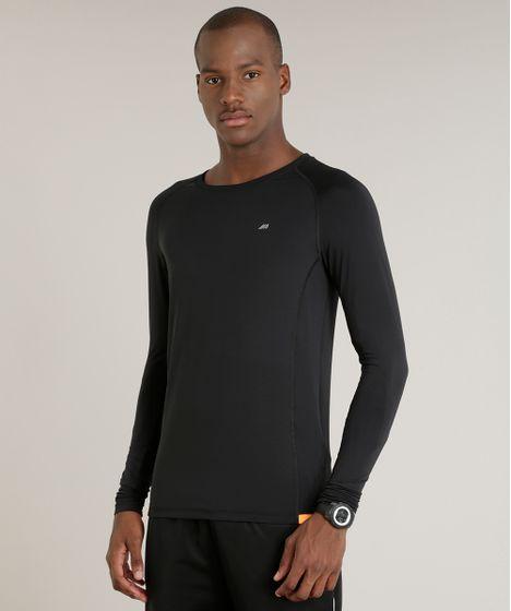 c0de34b08f92dc Camiseta Masculina Esportiva Ace com Proteção UV50+ Manga Longa Gola ...