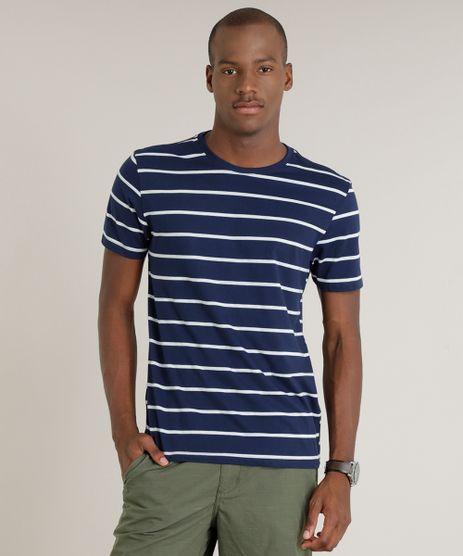 Camiseta-Masculina-Basica-Listrada-Manga-Curta-Gola-Careca-Azul-Marinho-9285469-Azul_Marinho_1