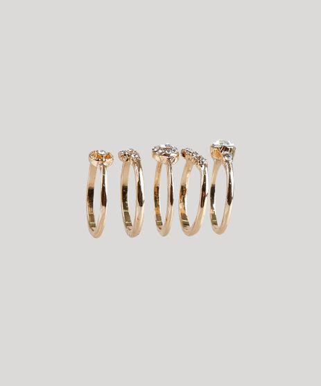Kit-de-5-Aneis-Femininos-Dourado-9207685-Dourado_1