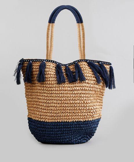 Bolsa-de-Praia-Feminina-Shopper-de-Palha-com-Tassel-Caramelo-9198298-Caramelo_1