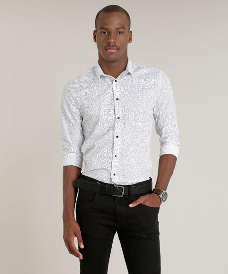 Camisa-Masculina-Slim-Estampada-Manga-Longa-Branca-9213850-Branco_1