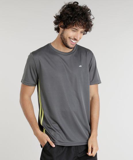 Camiseta-Masculina-Esportiva-Ace-de-Treino-com-Listras-Laterais-Chumbo-9156305-Chumbo_1