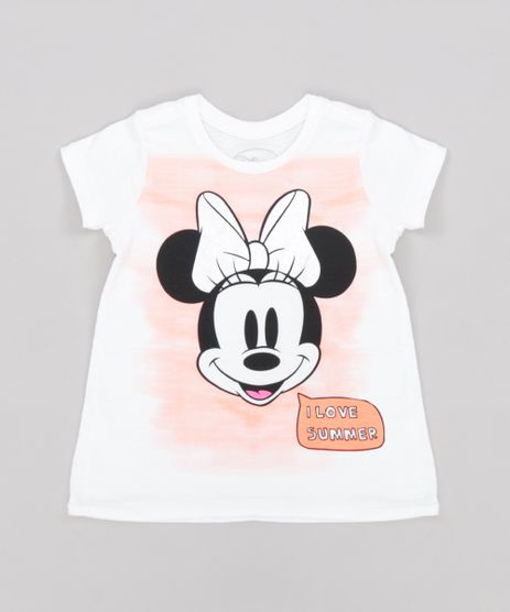 Blusa-Infantil-Minnie--I-Love-Summer--Manga-Curta-Decote-Redondo-Off-White-9276428-Off_White_1