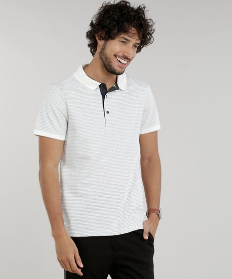 Polo-Masculina-Slim-Fit-Texturizada-Manga-Curta-Off-White-9281949-Off_White_1