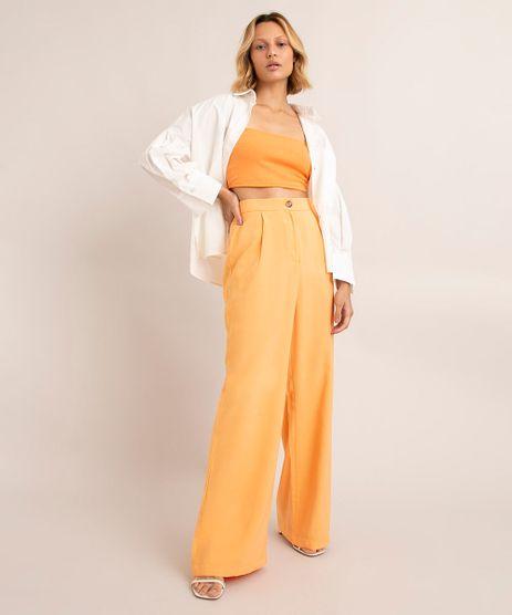 calca-wide-leg-com-pence-cintura-super-alta--laranja-1001535-Laranja_1