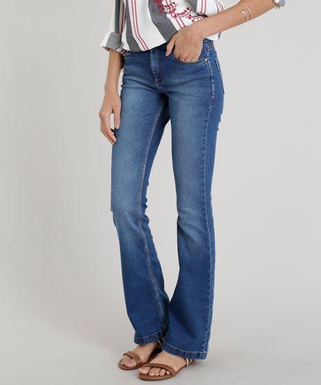 Calca-Jeans-Feminina-Flare-Cintura-Alta-Azul-Escuro-9287365-Azul_Escuro_1
