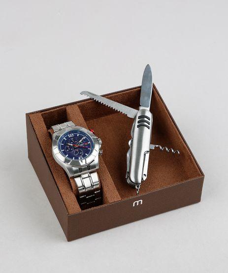 Kit-de-Relogio-Analogico-Mondaine-Masculino---Canivete---78756G0MVNS2K-Prateado-9339889-Prateado_1