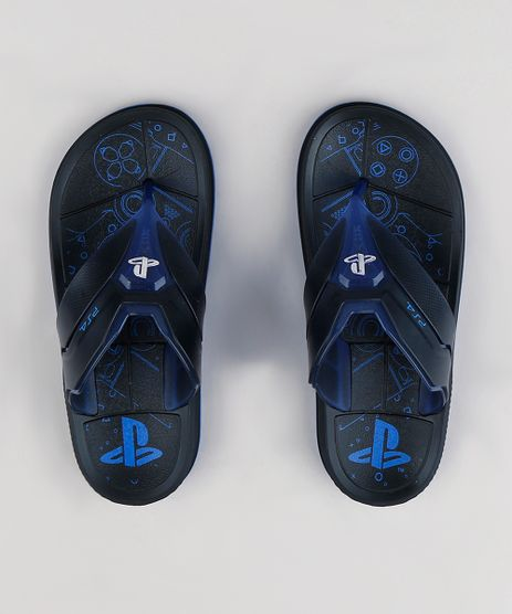Chinelo-Infantil-Grendene-PlayStation-Preto-9292916-Preto_1