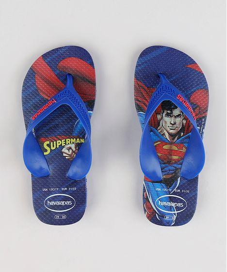 b92093a1a559c Chinelo-Infantil-Havaianas-Super-Homem-Azul-Royal-9316050- ...