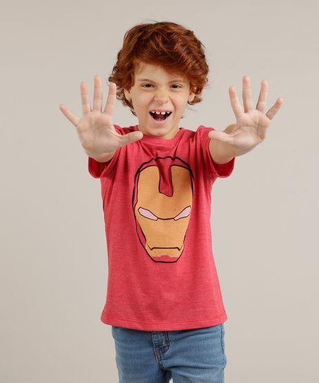 Camiseta-Infantil-Homem-de-Ferro-Manga-Curta-Gola-Careca-Vermelha-9281689-Vermelho_1