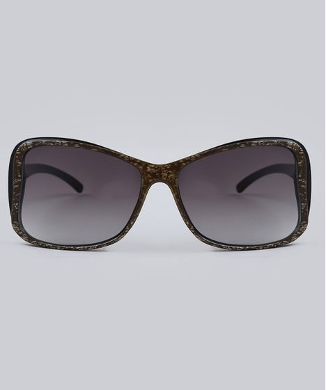 d126e7862 Oculos-de-Sol-Quadrado-Feminino-Oneself-Marrom-8519512- ...