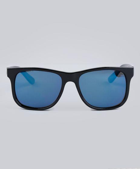 270f823bc8c5d Oculos-de-Sol-Quadrado-Infantil-Espelhado-Oneself-Preto-