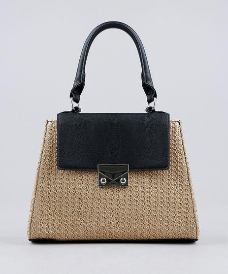 Bolsa-Transversal-com-Textura-de-Palha-Preta-9194449-Preto_1