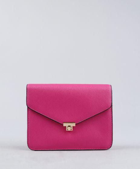 Bolsa-Feminina-Transversal-com-Corrente-Pink-9227656-Pink_1