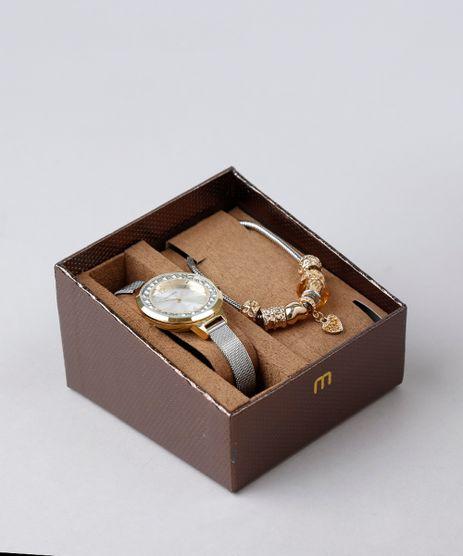 Kit-de-Relogio-Analogico-Mondaine-Feminino---Pulseira---53641LPMVBE1KZ-Dourado-9339940-Dourado_1