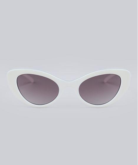 acb2316a6c8e7 Oculos-de-Sol-Gatinho-Feminino-Oneself-Branco-9211876- ...