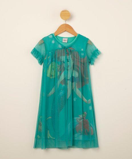 camisola-infantil-princesa-ariel-manga-curta-com-tule-e-babados-verde-1000699-Verde_1