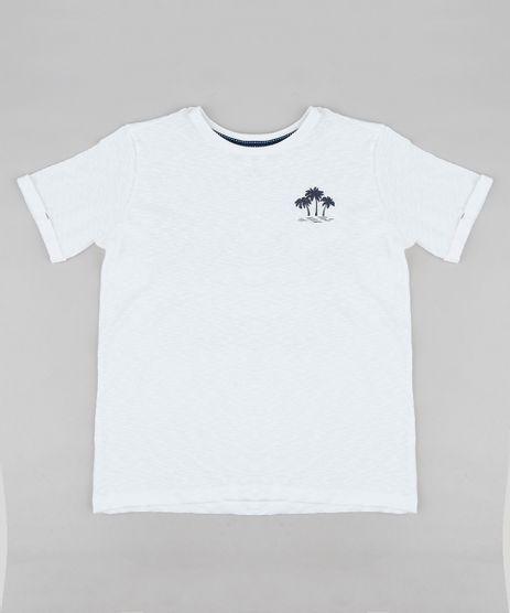 Camiseta-Infantil-Coqueiro-Manga-Curta-Gola-Careca-Off-White-9233529-Off_White_1