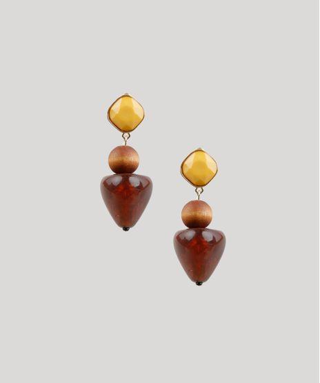 Brinco-Feminino-com-Aviamentos-Dourado-9207155-Dourado_1