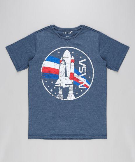 Camiseta-Infantil-Espacial-Manga-Curta-Gola-Careca-Azul-9316436-Azul_1