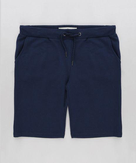 Bermuda-Infantil-Basica-em-Moletom-Azul-Marinho-9198715-Azul_Marinho_1