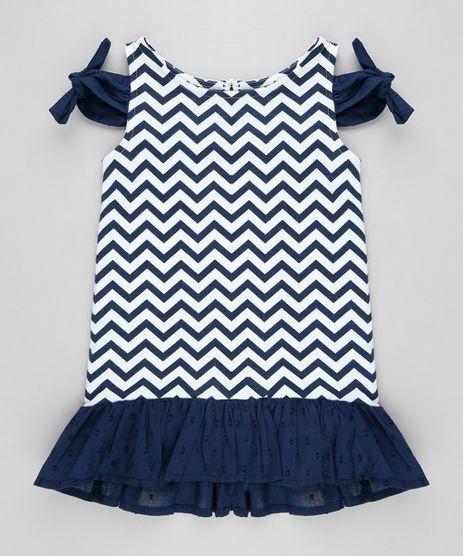 Vestido-Infantil-Open-Shoulder-Estampado-Chevron-com-No-e-Babado-Azul-Marinho-9213133-Azul_Marinho_1
