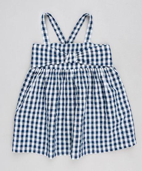 Vestido-Infantil-Xadrez-Vichy-com-Laco-com-Alcas-Azul-Marinho-9174594-Azul_Marinho_1