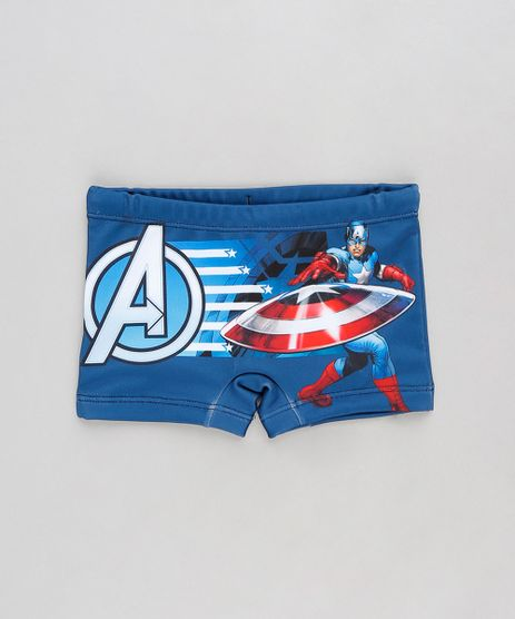 Sunga-Infantil-Boxer-Capitao-America-Azul-Marinho-9231834-Azul_Marinho_1