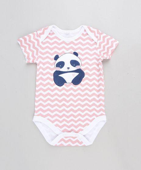 Body-Infantil-Panda-Estampado-Chevron-Manga-Curta-Rosa-9109997-Rosa_1
