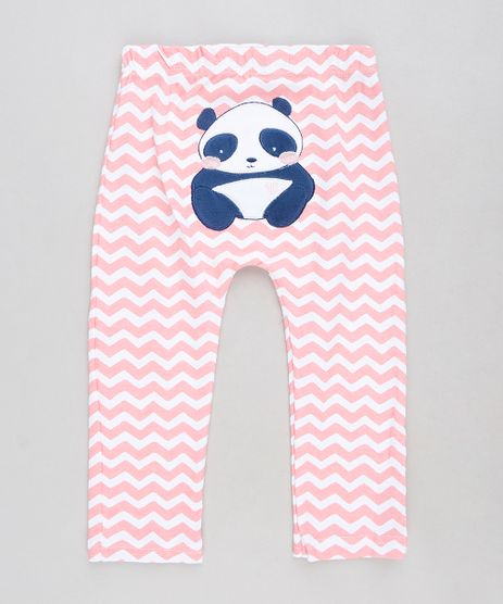 Calca-Infantil-Panda-Estampada-Chevron-Rosa-9109995-Rosa_1