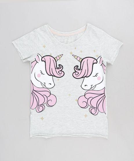 Blusa-Infantil-Unicornio-Manga-Curta-Decote-Redondo-Cinza-Mescla-9297081-Cinza_Mescla_1