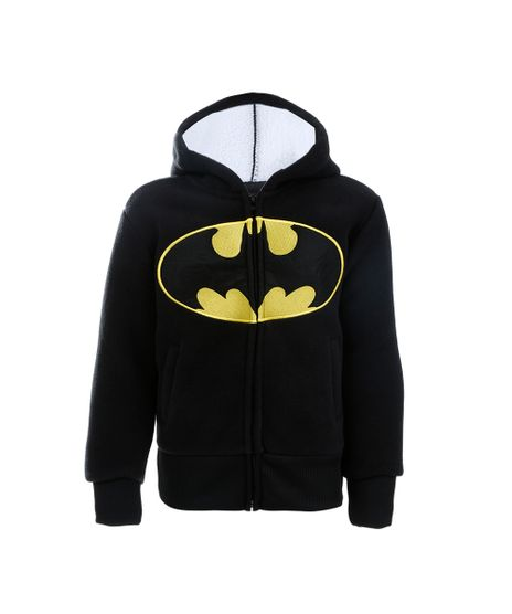 Blusao-de-Moletom-do-Batman-Menino-Preto-7806570-Preto_1
