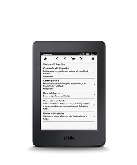 """Kindle-Paperwhite-AO0456-3G-Wi-Fi-4GB-Tela-6""""-de-Alta-Definicao-Sensivel-ao-Toque-Bateria-de-Longa-Duracao-e-Iluminacao-Embutida-Preto-8217640-Preto_1"""