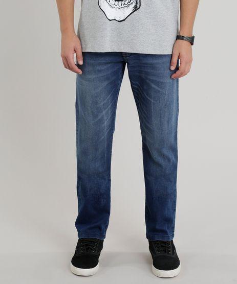 Calca-Jeans-Masculina-Reta-Azul-Medio-9258204-Azul_Medio_1