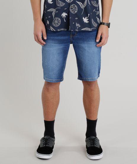 Bermuda-Jeans-Masculina-Slim-Azul-Medio-9251305-Azul_Medio_1