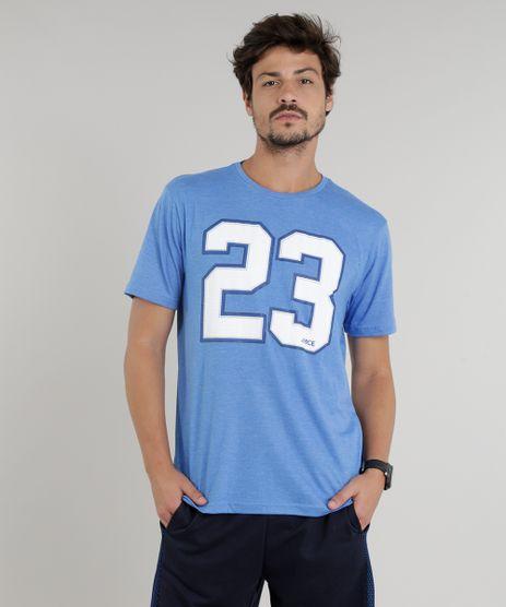 Camiseta-Masculina-Esportiva-Ace--23--Manga-Curta-Gola-Careca-Azul-9333841-Azul_1