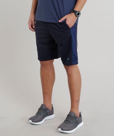 Bermuda-Masculina-Esportiva-Ace-em-Moletom-com-Recortes-Azul-Marinho-9268579-Azul_Marinho_1
