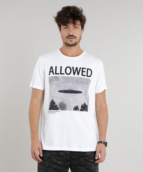 Camiseta-Masculina-Nave-Espacial-Manga-Curta-Gola-Careca-Branca-9203365-Branco_1