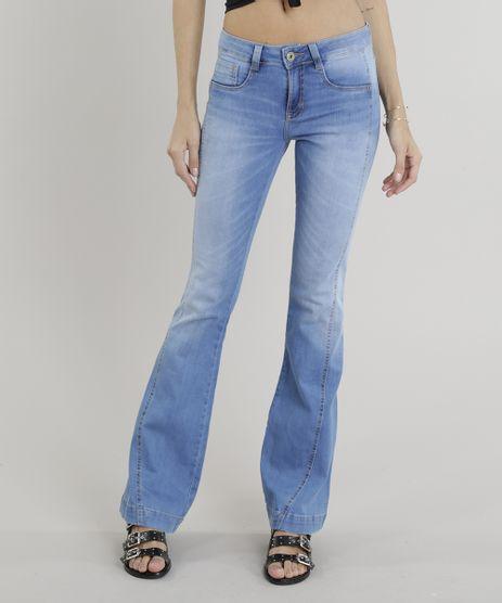 Calca-Jeans-Feminina-Flare-Sawary--Azul-Claro-9322490-Azul_Claro_1
