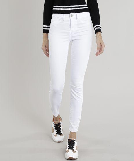 8e1d3f3ca Calca-Feminina-Super-Skinny-Energy-Jeans-Branca-8567561-