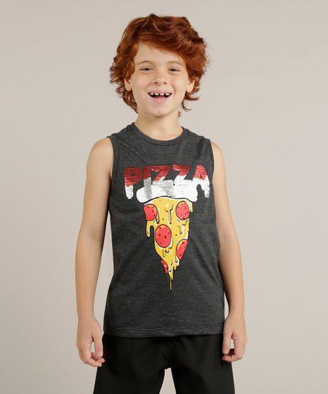 Regata-Infantil--Pizza--com-Paetes-Dupla-Face-Gola-Careca-Cinza-Mescla-Escuro-9265219-Cinza_Mescla_Escuro_1