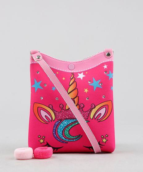 Bolsa-Infantil-Unicornio---Elasticos-de-Cabelo-Pink-9239117-Pink_1