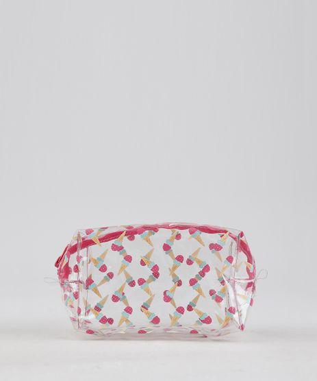 Necessaire-Feminina-Estampada-de-Sorvete-Pink-9236886-Pink_1