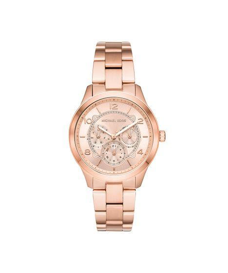 12d2124a733 Relógio Michael Kors Feminino Runway Rosé MK6589 1JN - cea